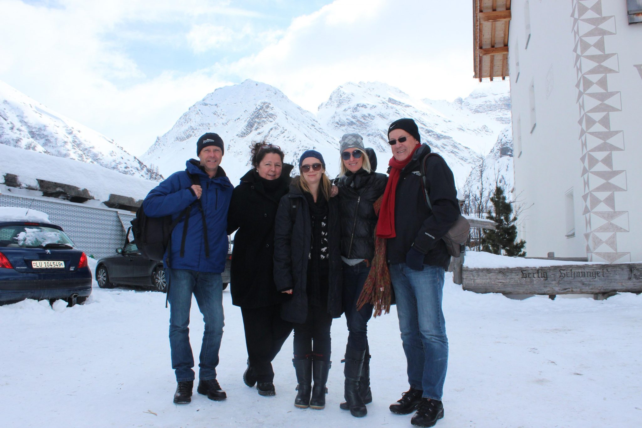 I traveled with a group of amazing people: Justin Fox (travel writer), Karin Duncker (SA pubiicist for Edelweiss), Ruth Cooper (Bizcommunity), Norman McFarlane (travel/wine writer)