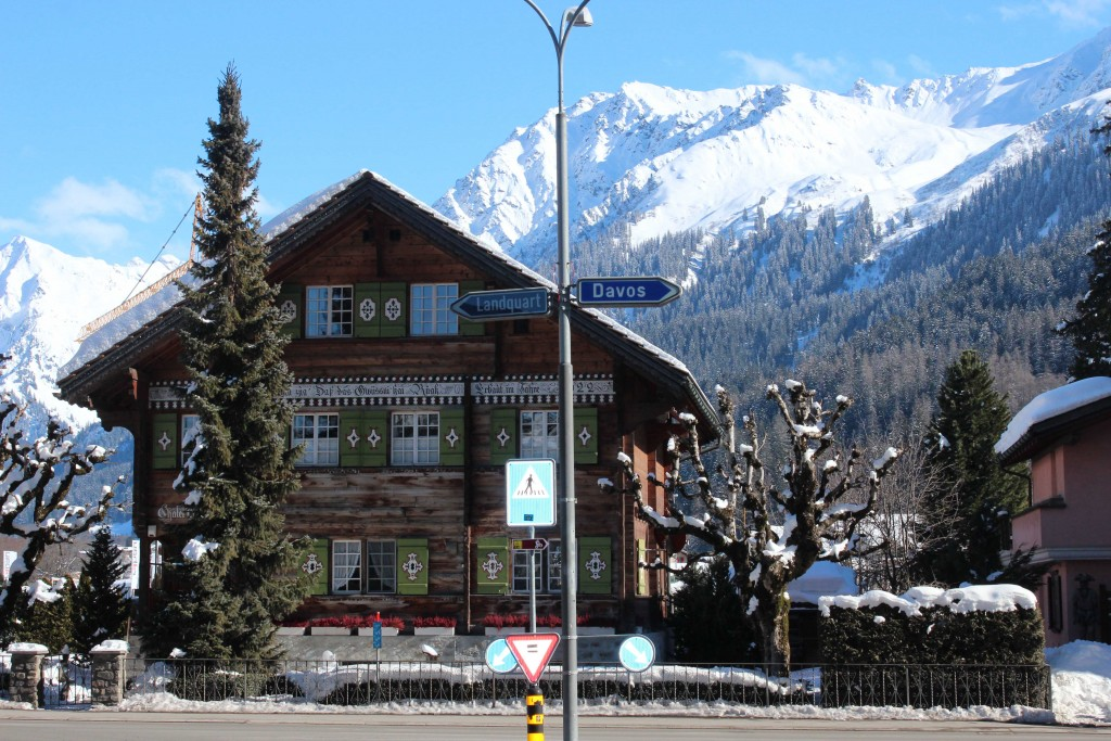 The village Klosters